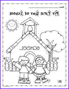 First Day Of Preschool Coloring Pages Unique Collection Free My First Day Of School Coloring Page I Love This