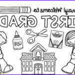 First Day Of School Coloring Pages Inspirational Collection Free Back To School Coloring Pages Pre K 5 Beginning