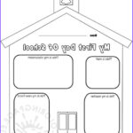 First Day Of School Coloring Pages Luxury Image Pics S My First Day Preschool Coloring Page