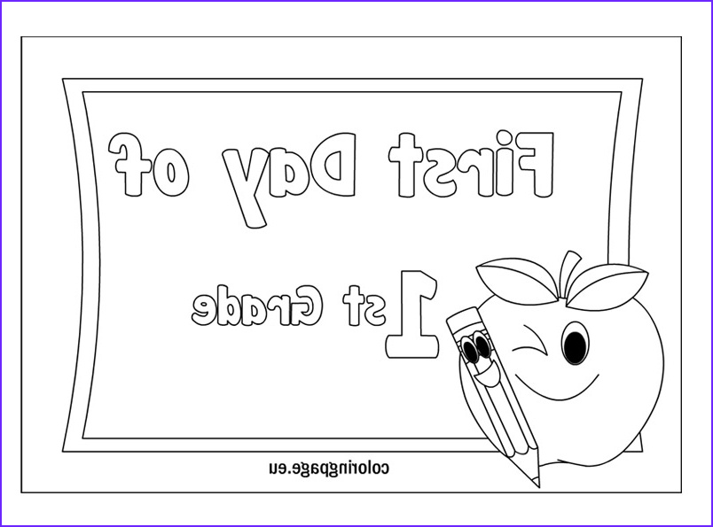 First Grade Coloring Sheets Cool Image First Grade Coloring Pages Free Coloring Home