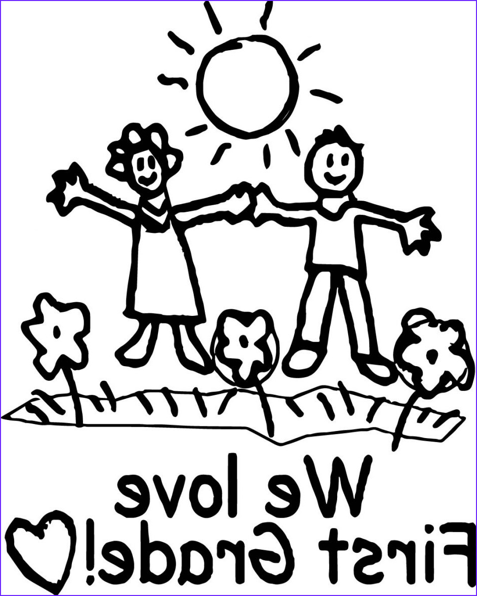 1st grade halloween coloring pages