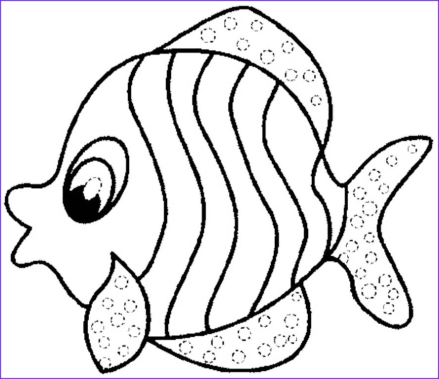 Fish Coloring Awesome Collection Mesmerizing Beauty 39 Fish Coloring Pages and Crafts