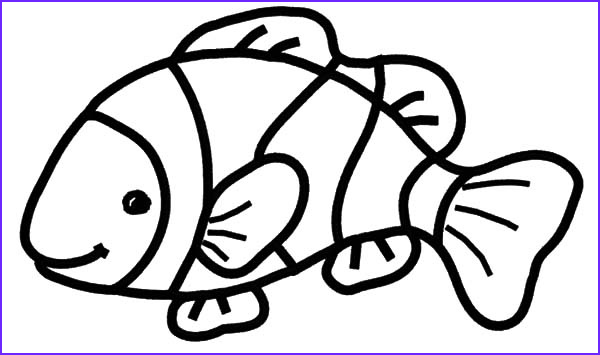Fish Coloring Book Awesome Photography Clown Fish Coloring Pages