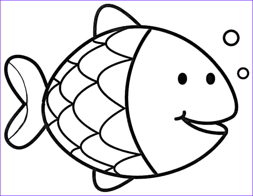 Fish Coloring Book Beautiful Gallery Fish Coloring Pages to Print Coloring Free Download
