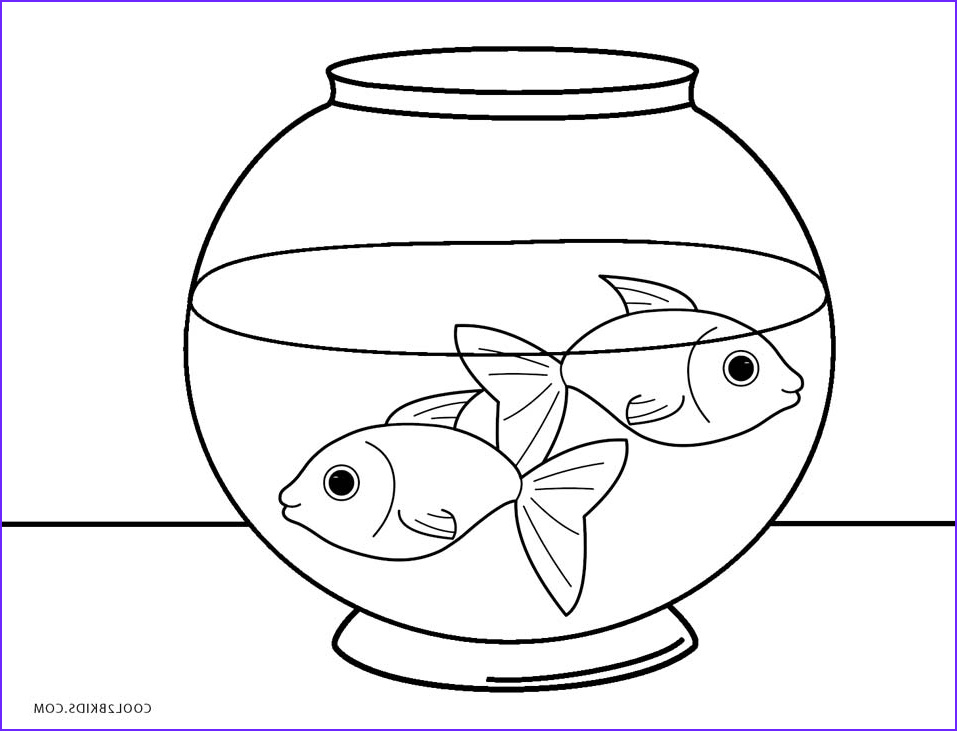 Fish Coloring Book Beautiful Photos Free Printable Fish Coloring Pages for Kids