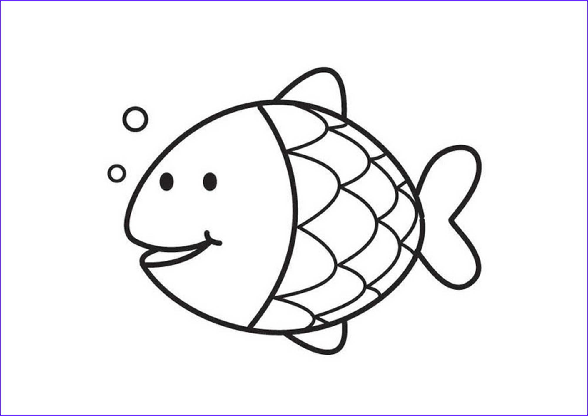 Fish Coloring Book Best Of Photos Print & Download Cute and Educative Fish Coloring Pages