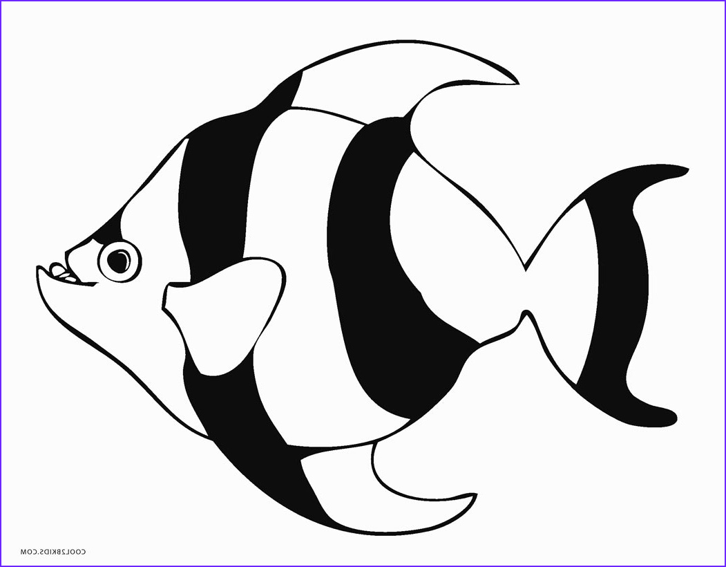Fish Coloring Book Inspirational Images Free Printable Fish Coloring Pages for Kids