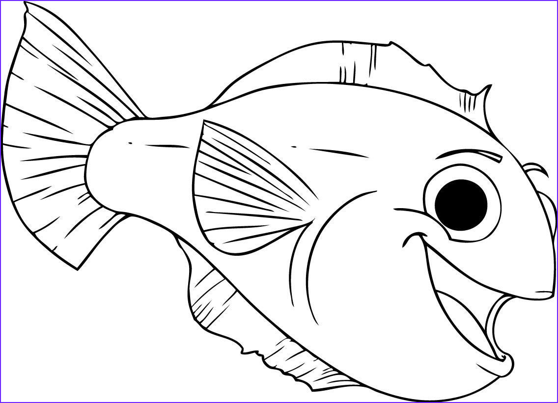 Fish Coloring Book Inspirational Photography Free Printable Fish Coloring Pages for Kids
