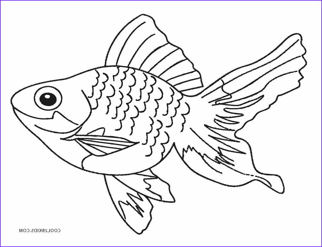 Fish Coloring Book New Collection Free Printable Fish Coloring Pages for Kids