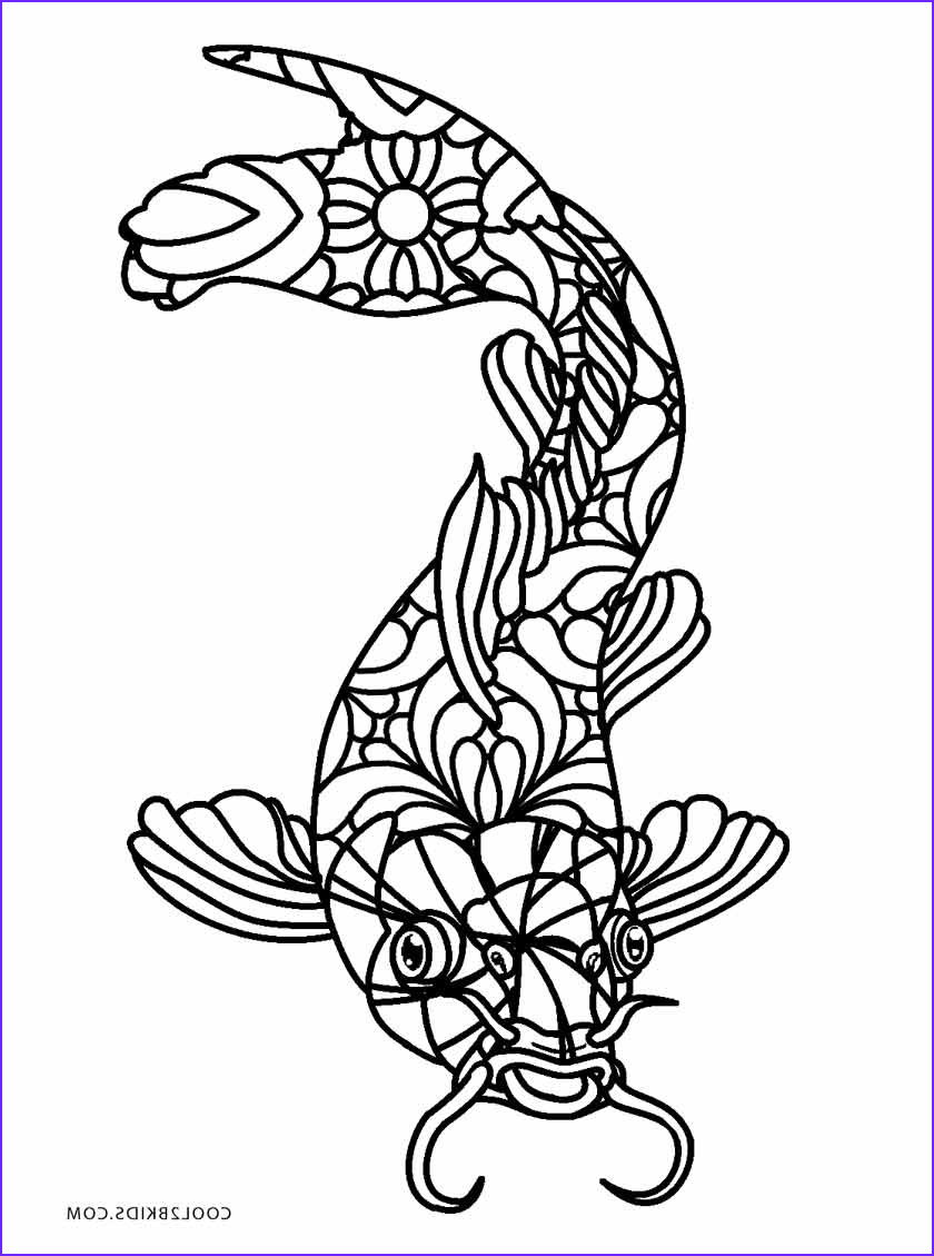 Fish Coloring Book New Photos Free Printable Fish Coloring Pages for Kids