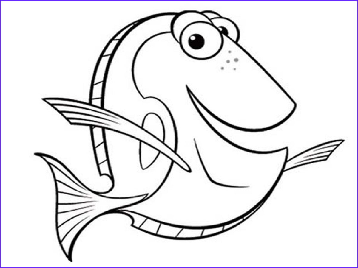 Fish Coloring Book Unique Images Fish Coloring Pages Printable
