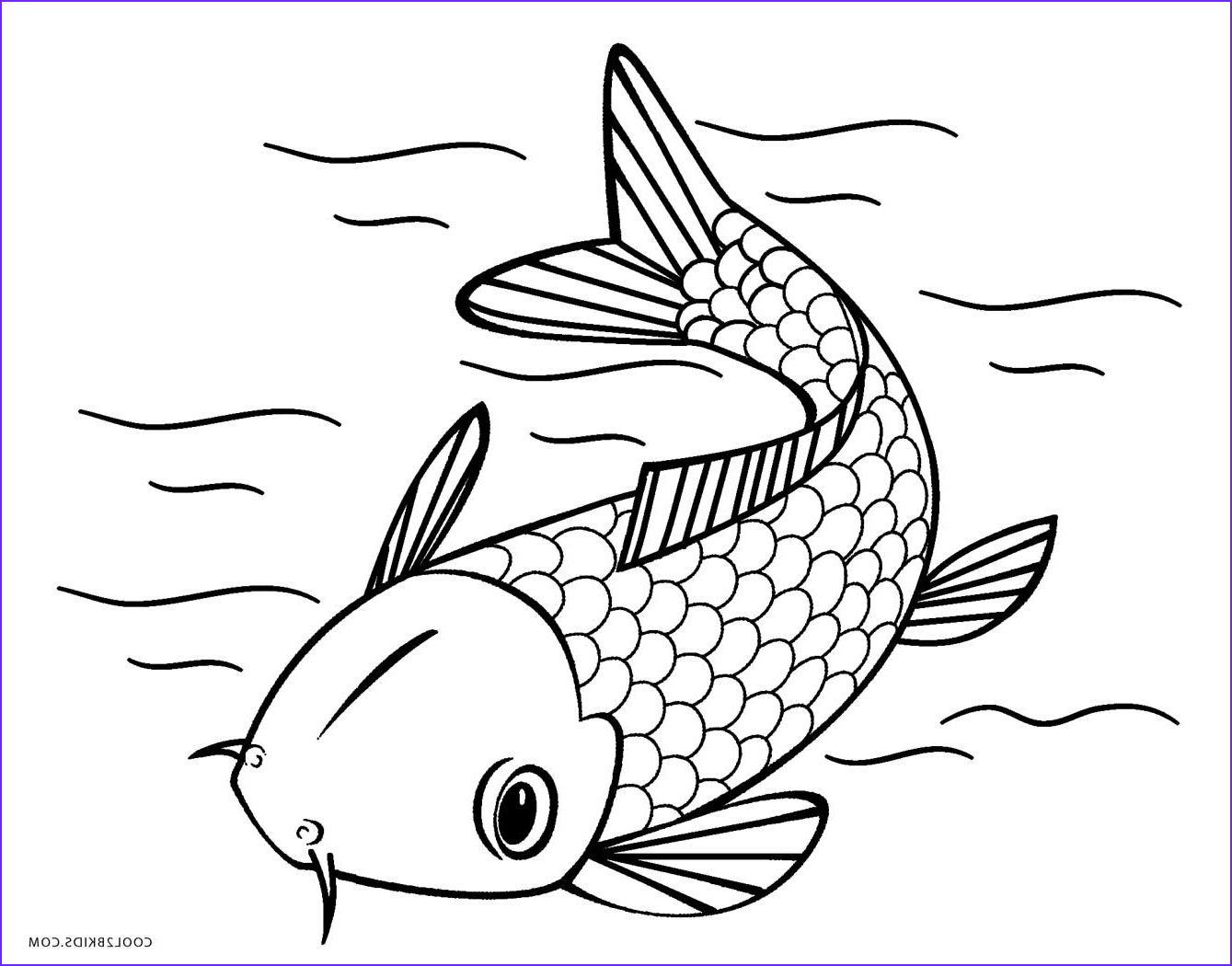 Fish Coloring Book Unique Images Free Printable Fish Coloring Pages for Kids