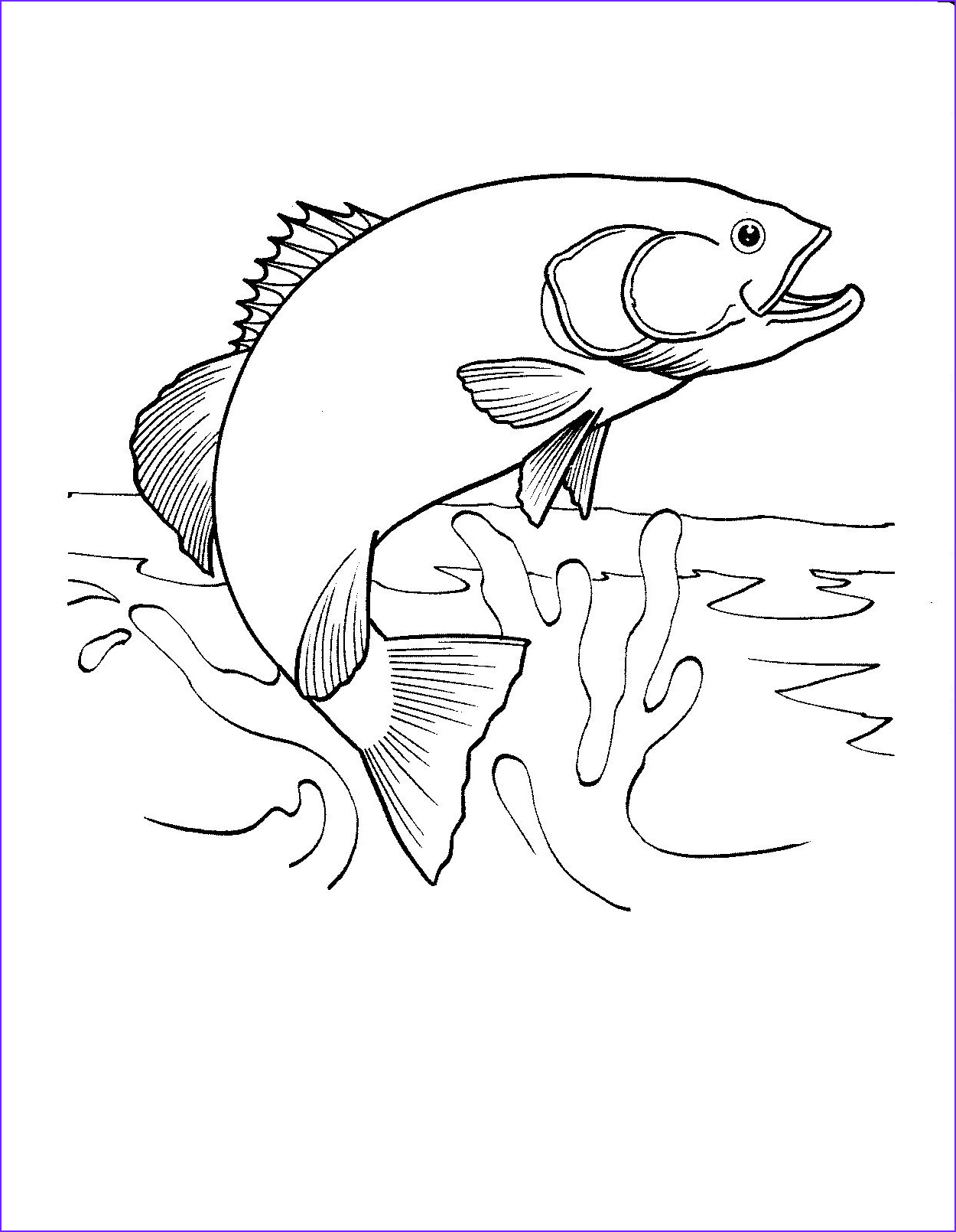 Fish Coloring Inspirational Photos Printable Fish Coloring Pages