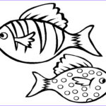 Fish Coloring Pages For Adults Luxury Photos Fish Outlines For Children Clipartsco