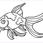 Fish Coloring Pages Unique Images Free Printable Goldfish Coloring Pages for Kids