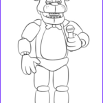 Five Nights At Freddy's Coloring Book Cool Images Freddy Fazbear Coloring Page