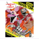Five Nights At Freddy's Coloring Book Inspirational Gallery Crayola Art With Edge Coloring Pages Five Nights At