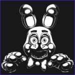Five Nights At Freddy's Coloring Book Inspirational Photos Bonnie Fnaf T Shirt Gaming Related
