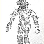 Five Nights At Freddy's Coloring Book Unique Image Foxy Drawing At Getdrawings