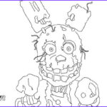 Five Nights At Freddy's Coloring Book Unique Photos How To Draw Springtrap From Five Nights At Freddy S 3