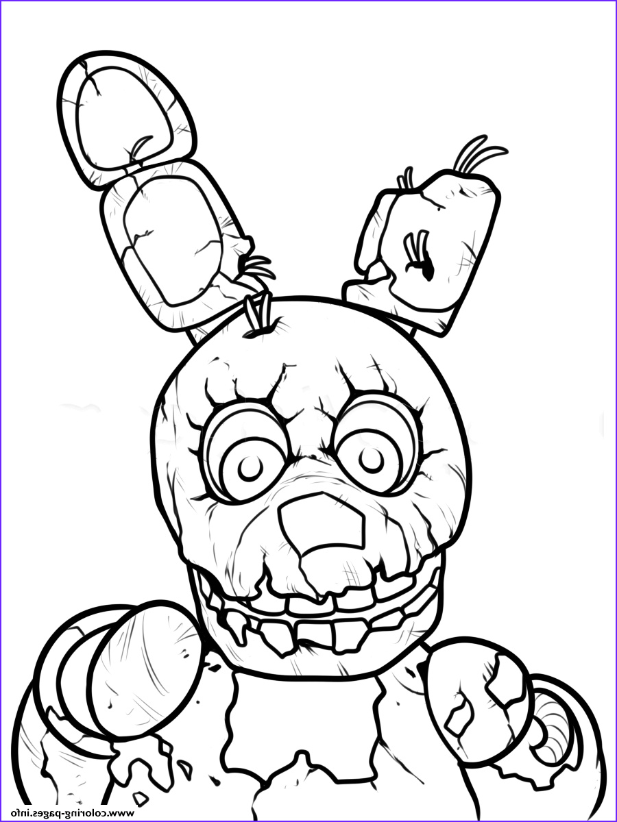 Five Nights at Freddy's Coloring Pages Beautiful Photos Print Freddy Five Nights at Freddys Printable Coloring
