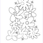 Flower Coloring Book Pages Beautiful Stock Flower Coloring Pages