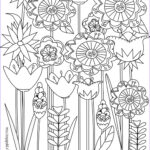 Flower Coloring Book Pages Elegant Image Free Printable Floral Coloring Page Ausdruckbare