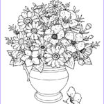 Flower Coloring Book Pages Inspirational Photos Flower My Coloring Land