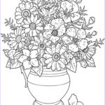 Flower Coloring Book Pages Luxury Photos Free Printable Flower Coloring Pages For Kids Best