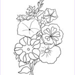 Flower Coloring Book Pages New Photos Flower Coloring Pages