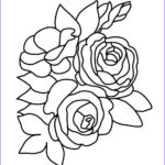 Flower Coloring Book Pages Unique Collection Flower Coloring Pages