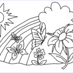 Flower Coloring Book Pages Unique Gallery Free Printable Flower Coloring Pages For Kids Best