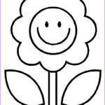 Flower Coloring Cool Stock Free Printable Flower Coloring Pages For Kids Best