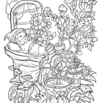 Flower Coloring Pages for Adults Elegant Collection Floral Fantasy Digital Version Adult Coloring Book