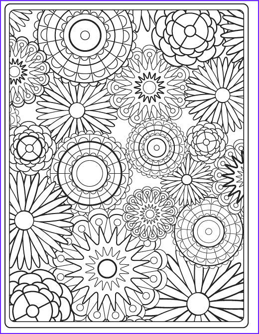 Flower Coloring Pages for Adults New Image Flower Coloring Pages for Adults Best Coloring Pages for