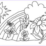 Flower Coloring Unique Gallery Free Printable Flower Coloring Pages For Kids Best