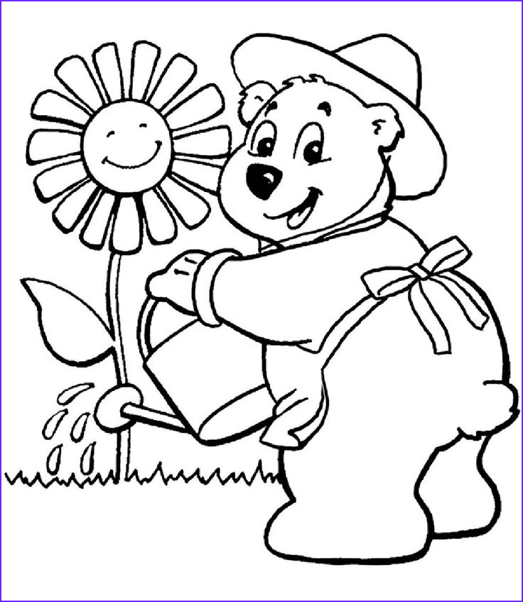 Flower Garden Coloring Pages Awesome Photos 17 Best Images About Gardening Coloring Pages On Pinterest