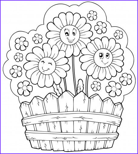 Flower Garden Coloring Pages Awesome Photos Coloring Page Of Flower Garden Google Search