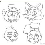 Fnaf Coloring Book Best Of Collection Fnaf Coloring Pages Five Nights At Freddys Bonnie Foxy