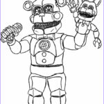Fnaf Coloring Book Inspirational Image Nightmare Funtime Freddy By Ooblekyt On Deviantart