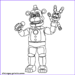 Fnaf Coloring Book New Gallery Fnaf Freddy Funtime Coloring Pages Printable