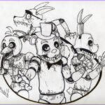 Fnaf Coloring Book New Images Five Nights At Freddy S Coloring Pages Black And White