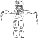 Fnaf Coloring Book New Photography Animatronics Coloring Pages To And Print For Free