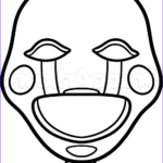 Fnaf Coloring Sheet Beautiful Collection How To Draw The Puppet Easy Step 6 Fnaf