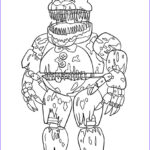 Fnaf Coloring Sheet Beautiful Gallery Print Nightmare Fredbear Scary Fnaf Coloring Pages