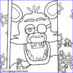 Fnaf Coloring Sheet Cool Photos Five Nights At Freddys Fnaf Foxy To Color Coloring Pages