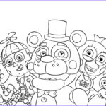 Fnaf Coloring Sheet Luxury Collection Fnaf Printable Coloring Pages To Print