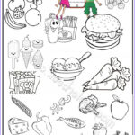 Food Coloring Book Beautiful Images 23 Best Food Coloring Pages Images On Pinterest