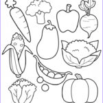 """Food Coloring Book Beautiful Images Healthy Ve Ables Coloring Page Sheet Printable """"i"""