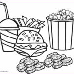 Food Coloring Book Elegant Stock Free Printable Food Coloring Pages For Kids